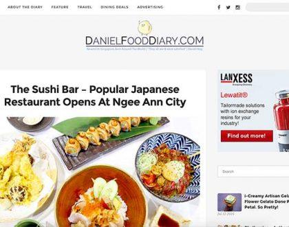 Daniel Food Diary